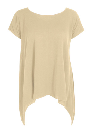 Seamed Pima Cotton Swing Top