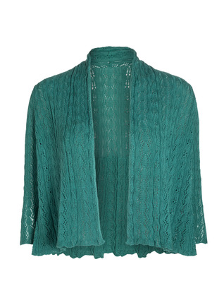 Pima Cotton Lace Gwyneth Cardigan