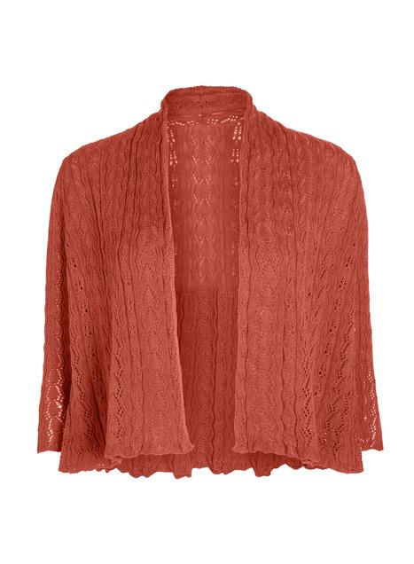 Pima Cotton Lace Gwyneth Cardigan