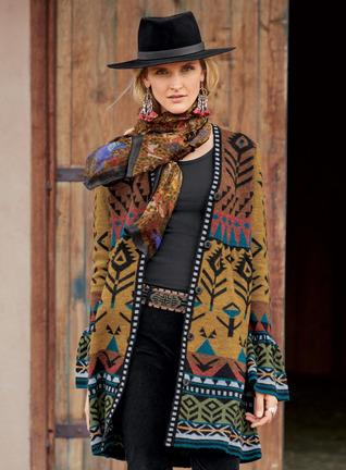 Black Hills Baby Alpaca Knit Jacket