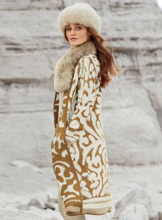 Rajasthan Baby Alpaca Knit Coat