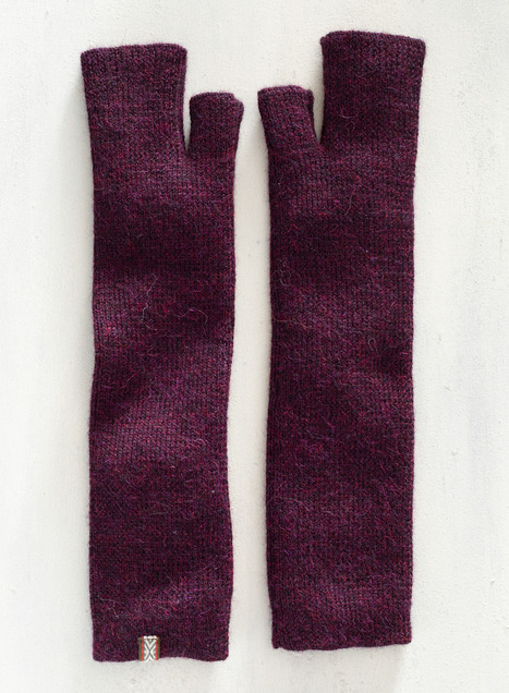 Sierra Baby Alpaca Fingerless Gloves