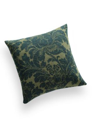 Arts & Crafts Baby Alpaca Floral Pillow