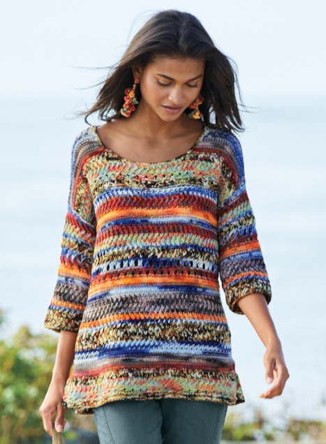 Crayon Stripe Pullover