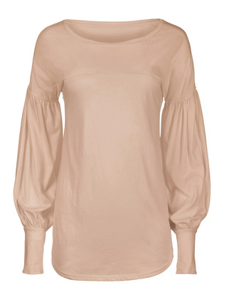 Pima Cotton Poet Top