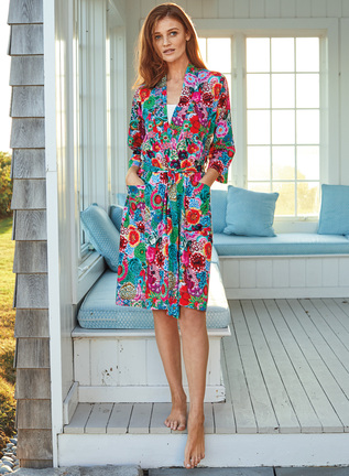 Jardin Pima Cotton Robe