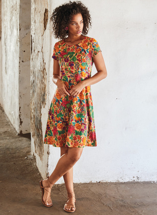 Pima Cotton Tropico Dress