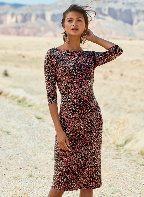 Panthera Pima Cotton Dress