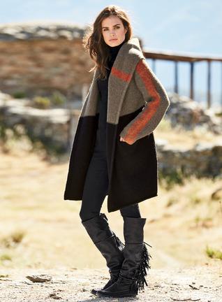 Nuvuk Alpaca Blanket Coat