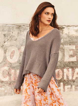 Barrio Viejo Pima Cotton Pullover