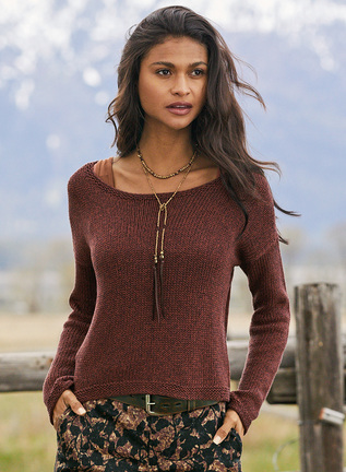 Thea Pima Cotton Pullover