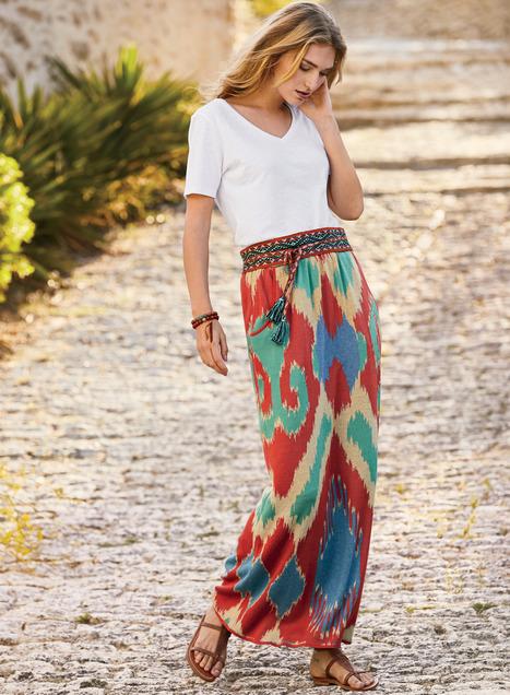 Tashkent Pima Cotton Skirt