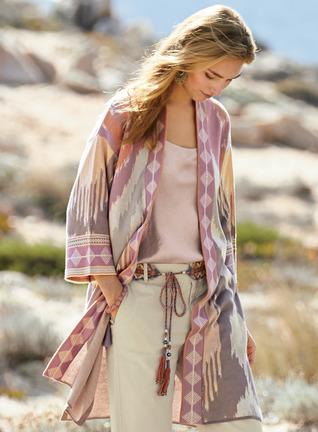 Dreamscape Pima Cotton Kimono