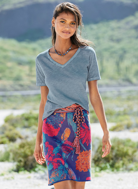 La Jolla Pima Short Skirt