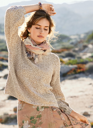 Arabella Pima Cotton Pullover
