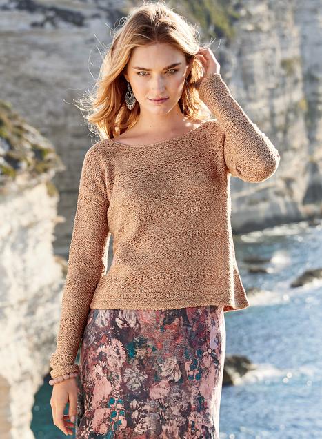 Marlena Pima Cotton Pullover