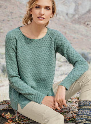 Inlet Baby Alpaca Pullover, Women's Pullovers