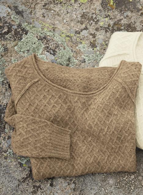Inlet Baby Alpaca Pullover