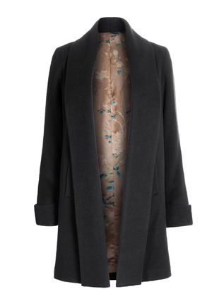Delaney Alpaca Coat