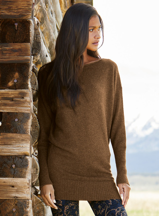 Aspen Royal Alpaca Tunic