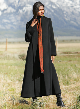 Baby Alpaca Decades Coat
