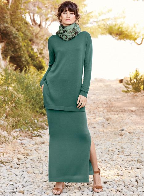 Dorsay Pima Cotton Skirt
