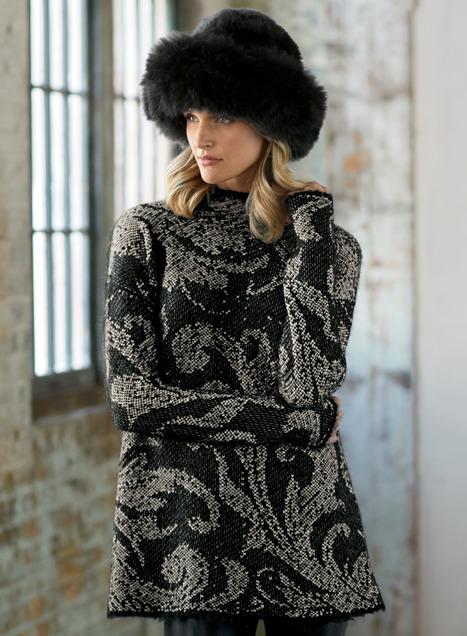 Blackwork Pima Cotton Tunic