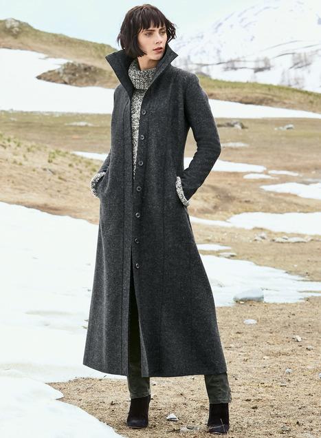 Vicarage Alpaca Coat