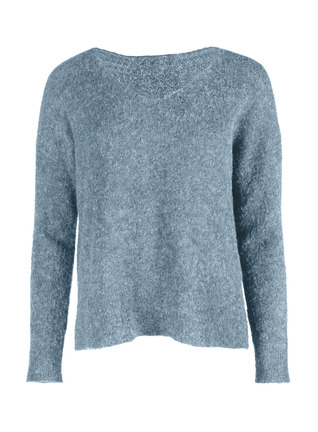 Featherweight Alpaca V-Neck Pullover