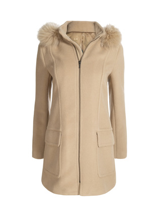 Eliana Alpaca Coat