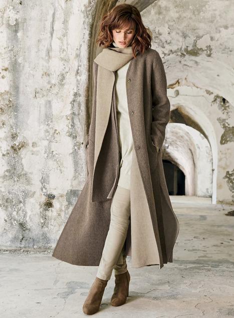 Jaden Reversible Alpaca Coat