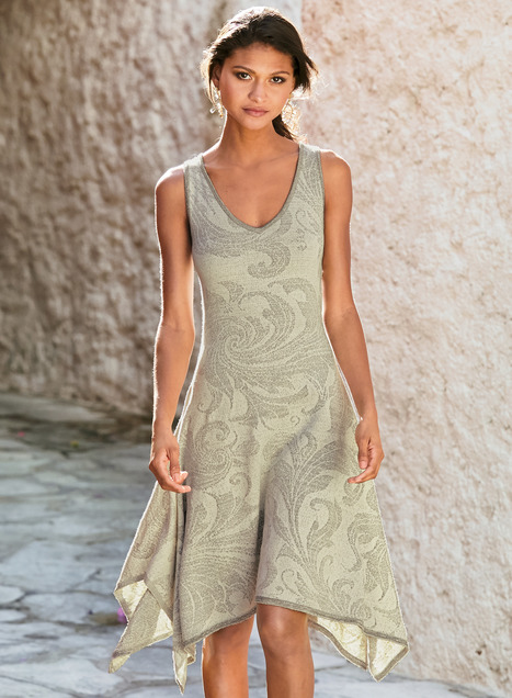 Acanthus Pima Cotton Dress