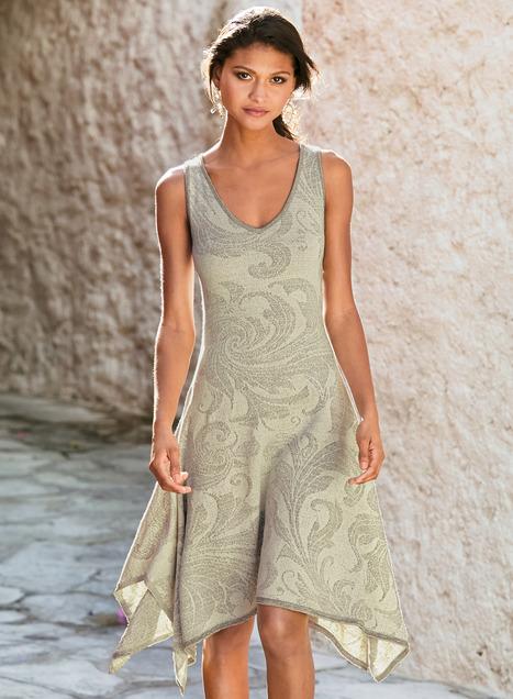 Acanthus Pima Cotton Dress