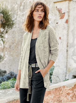 Acanthus Pima Cotton Cardigan