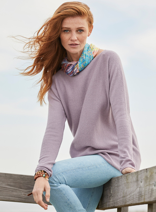 Royal Alpaca Boatneck Pullover