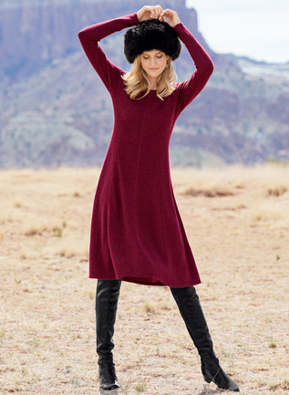 Emma Royal Alpaca Dress