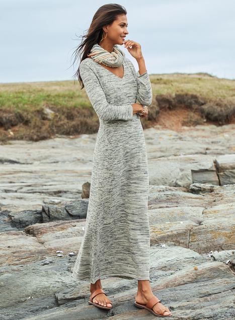 Pima Cotton Moon Shadow Dress
