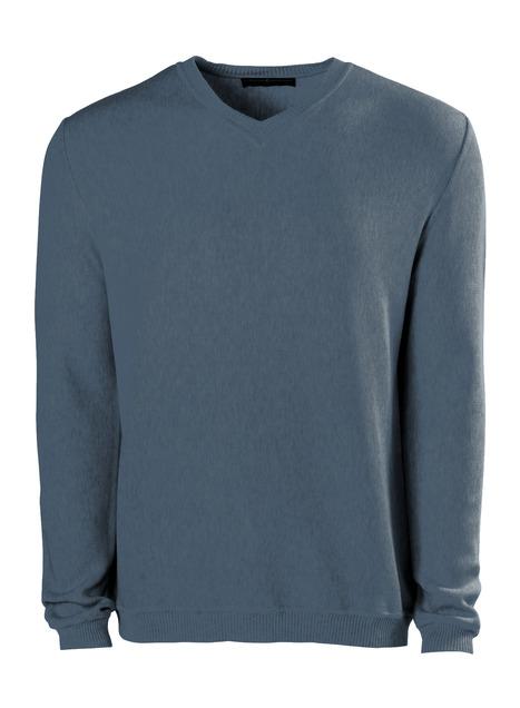 Men's Pima Links V-Neck Pullover