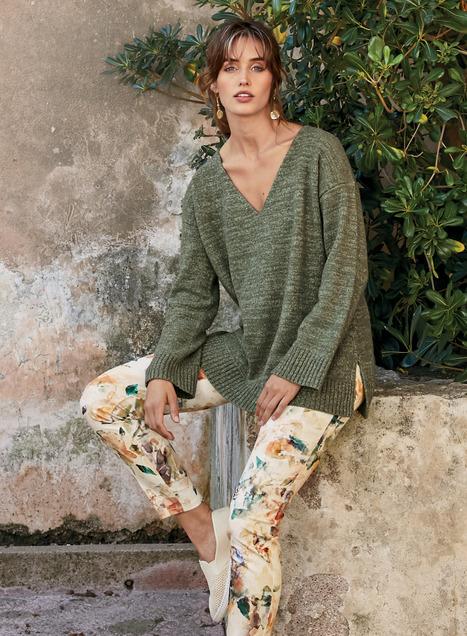 Serena Pima Cotton Pullover
