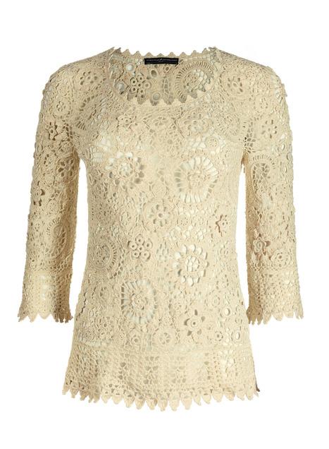 Flanders Lace Pima Cotton Top