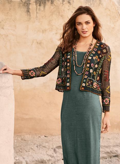 Silk Road Pima Cotton Cardigan