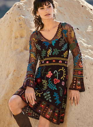 Folklorica Pima Cotton Dress