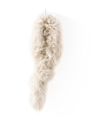 Alpaca Fur Pull-Through Scarf