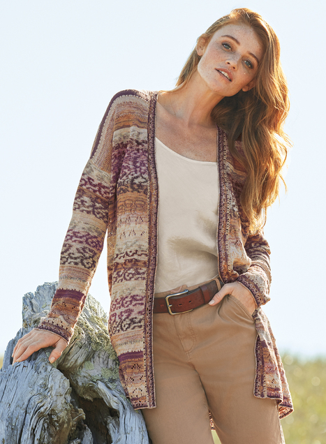 Mojave Pima Cotton Cardigan