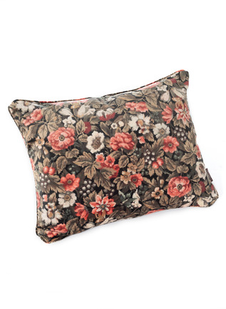 Etched Floral Pillow