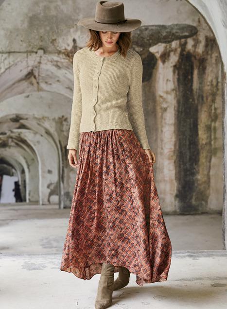 Kirkwall Maxi-Skirt