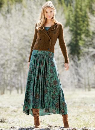 Lunaria Maxi-Skirt