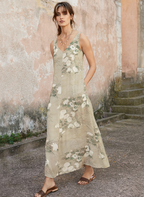 Pale Moon Maxi-Dress