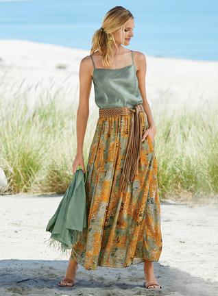 Tibetan Maxi-Skirt