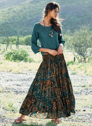Harumi Maxi-Skirt